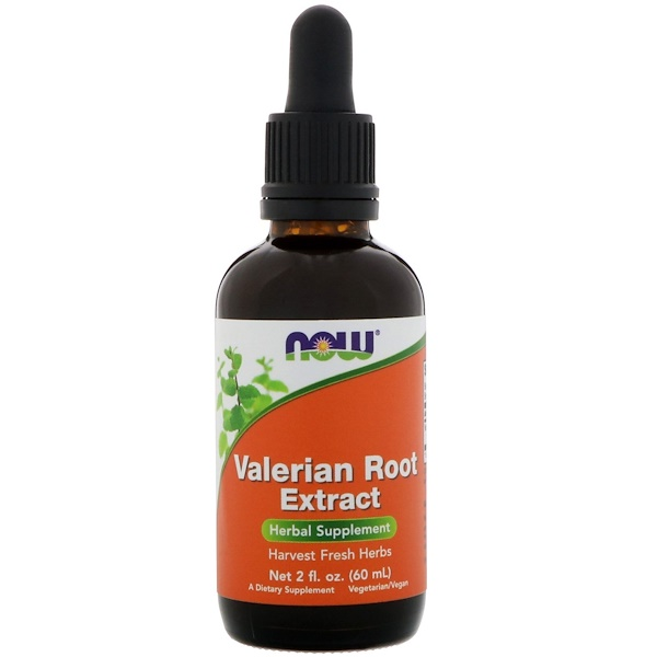 Now Foods, Extrato de raiz de Valeriana, 2 fl oz (60ml)