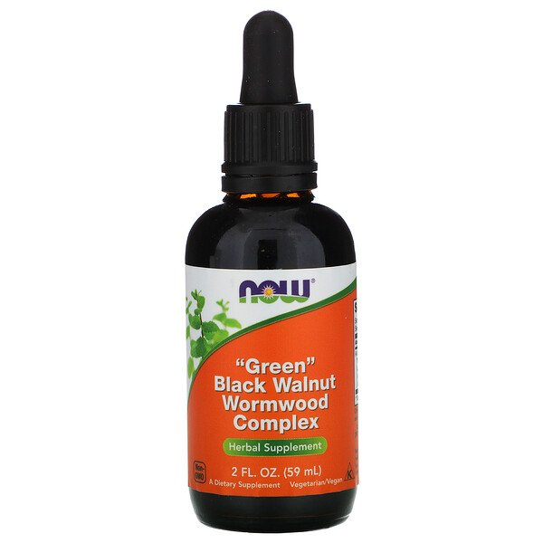 Green Black Walnut Wormwood Complex, 2 fl oz (59 ml)