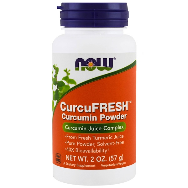 Now Foods, CurcuFresh Curcumin Powder, 2 oz (57 g) (Discontinued Item)