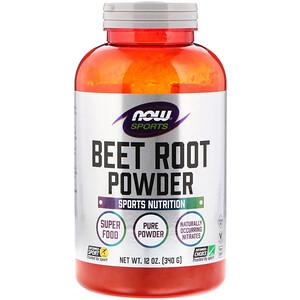 Now Foods, Sports, Beet Root Powder, 12 oz (340 g) отзывы