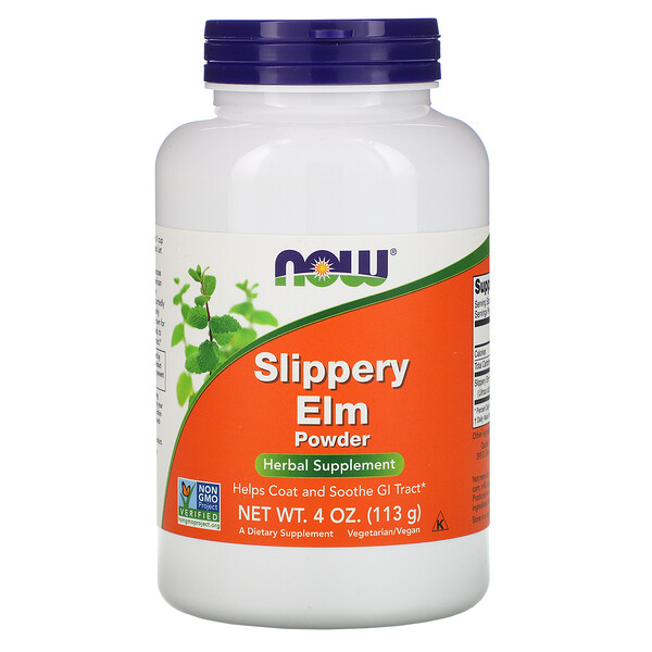 Slippery Elm Powder, 4 oz (113 g)