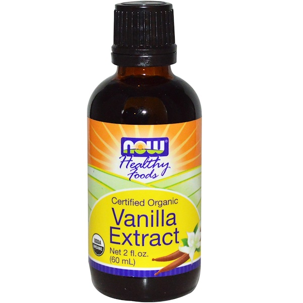 Now Foods, Healthy Foods, Organic, Vanilla Extract, 2 fl oz (60 ml) (Discontinued Item)