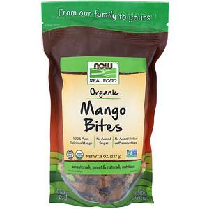 Now Foods, Real Foods, Organic Mango Bites, 8 oz (227 g) отзывы