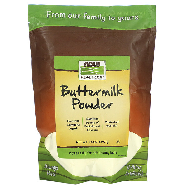 ١٤ أونصه (٣٩٧غرام )من بودرة زبدة الحليب من ريل فود