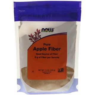 Now Foods, Pure Apple Fiber, 12 oz (340 g)
