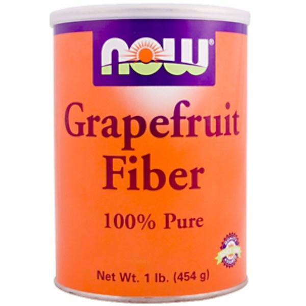 Now Foods, Grapefruit Fiber, 1 lb. (454 g) (Discontinued Item)