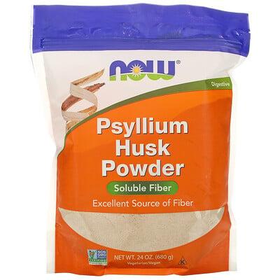 Купить Now Foods порошок из шелухи семян подорожника, 680г (1, 5фунта)