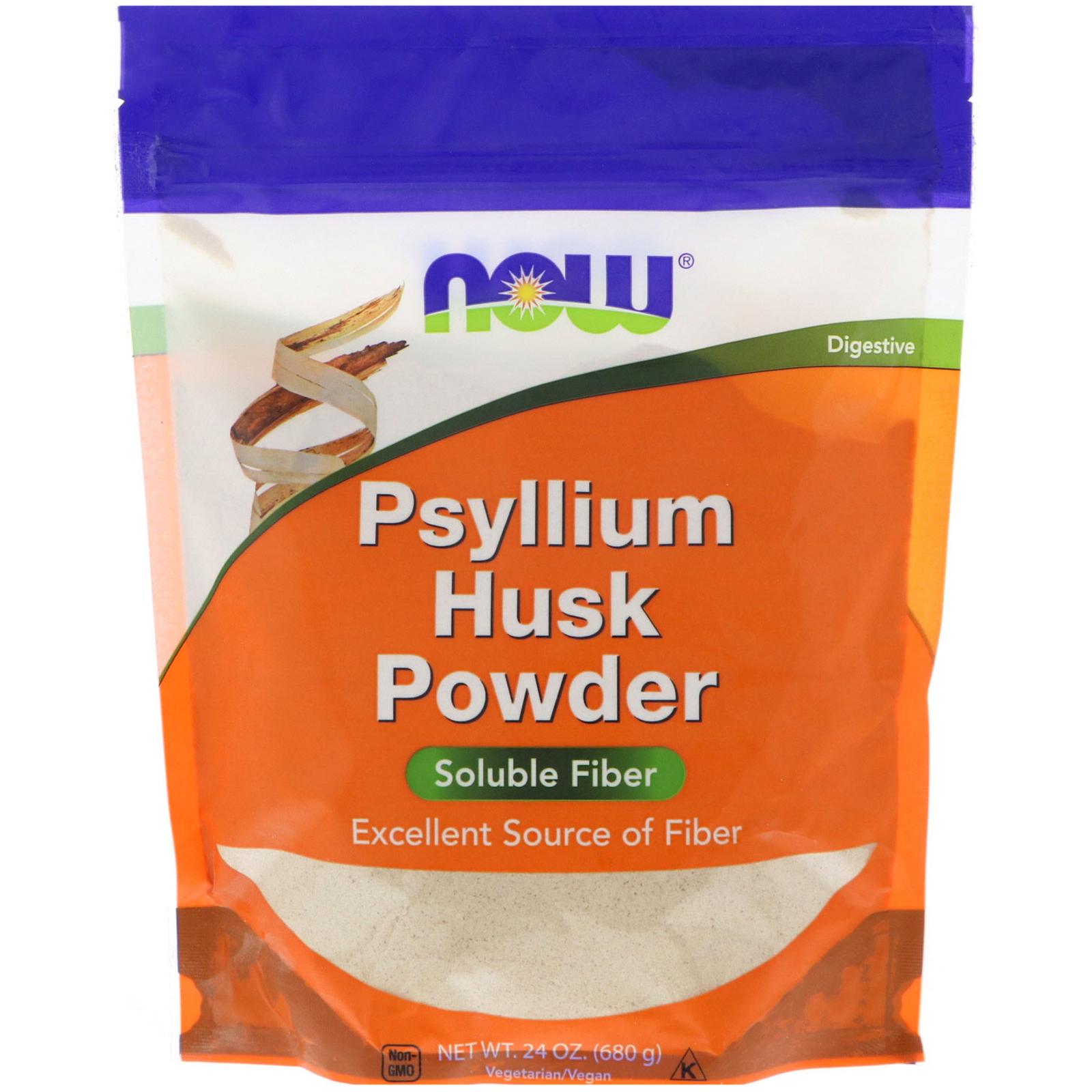 Now Foods Psyllium Husk Powder 15 Lbs 680 G Iherbcom