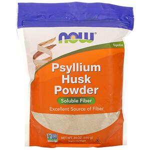 Now Foods, Psyllium Husk Powder, 1.5 lbs (680 g) отзывы покупателей