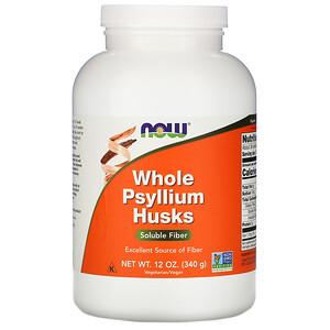 Now Foods, Whole Psyllium Husks, 12 oz (340 g) отзывы покупателей