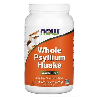 Now Foods, Whole Psyllium Husks, ganze Flohsamenschalen, 680g (24oz.)