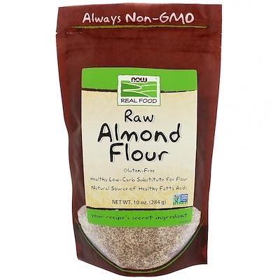 Real Food, Raw Almond Flour, 10 унций (284 г)