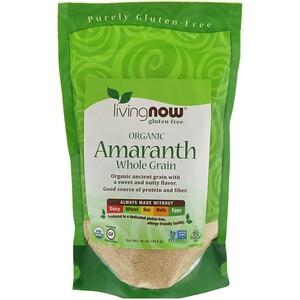 Now Foods, Organic Amaranth, Whole Grain, 16 oz (454 g) отзывы покупателей
