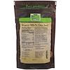 Now Foods, Real Food, Органические белые семена чиа, 1 фунт (454 г)