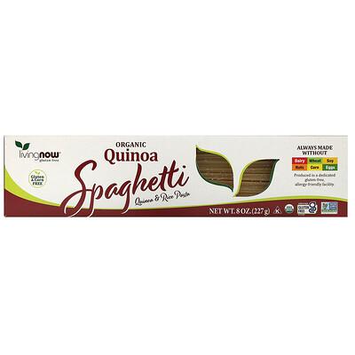 Now Foods Real Food, спагетти из органической квиноа, 227 г (8 унций)