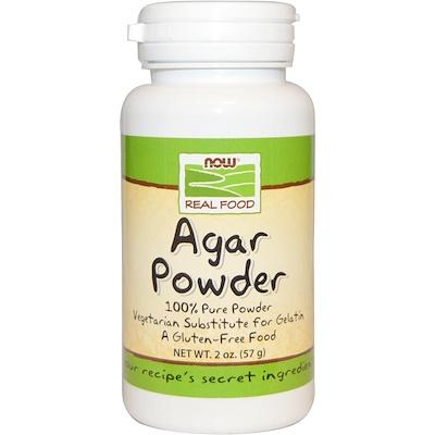 Real Food, порошок агар-агара, 57 г (2 унции) правильное питание оргтиум агар агар 100 г