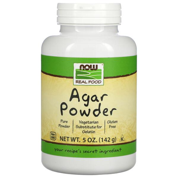 Now Foods, Agar-Pulver, 5 oz (142 g)