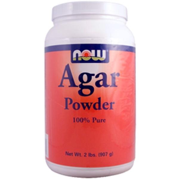 Now Foods, Agar Powder, 2 lbs. (907 g) (Discontinued Item)
