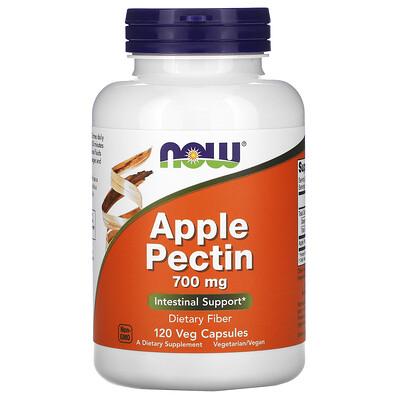 Now Foods яблочный пектин, 700мг, 120капсул