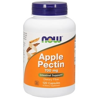Now Foods, Pectina de Maçã, 700 mg, 120 Cápsulas