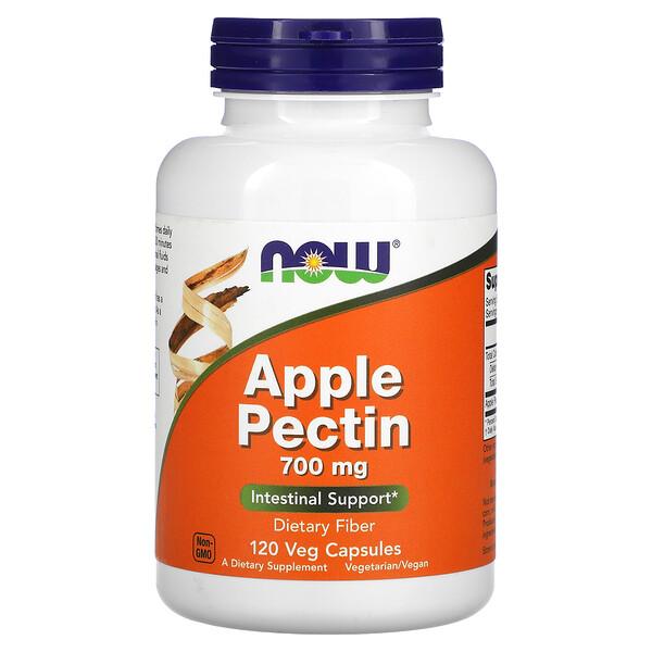 Now Foods, Apple Pectin, 700 mg, 120 Veg Capsules