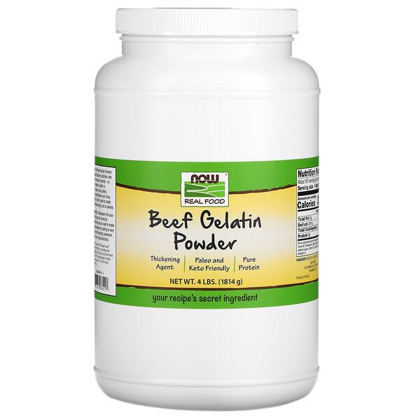 Real Food, Beef Gelatin Powder, 4 lbs (1,814 g)