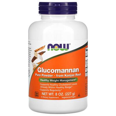 Now Foods Глюкоманнан, чистый порошок, 227 г (8 унций)