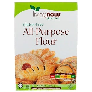 Now Foods, All-Purpose Flour, Gluten-Free, 17 oz (482 g)