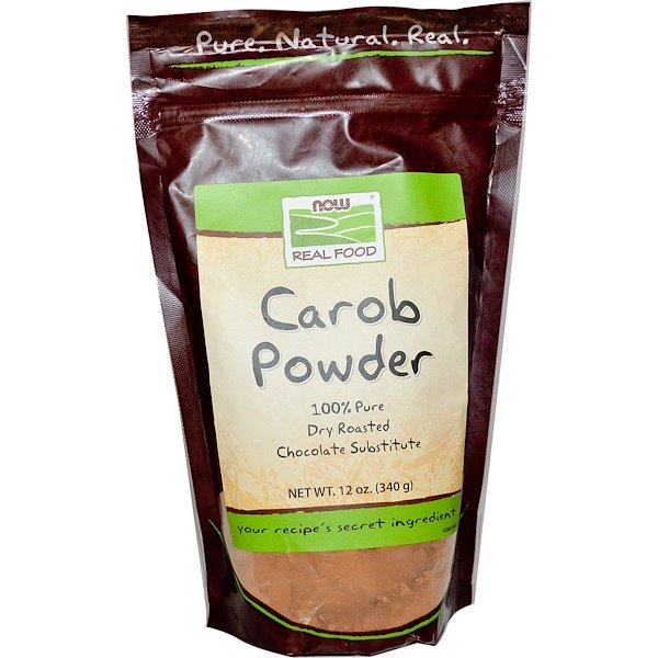 Now Foods, Real Food, Carob Powder, 12 oz (340g)
