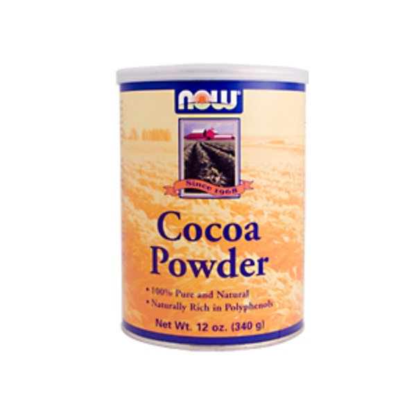 Now Foods, Cocoa Powder, 12 oz (340 g) (Discontinued Item)