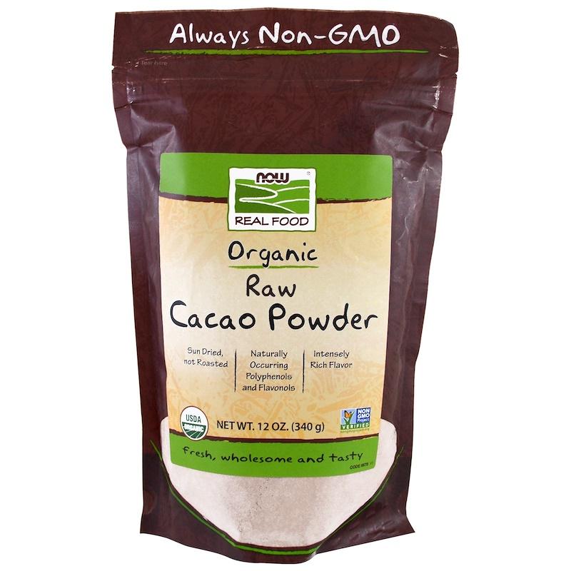 Real Food, Organic Raw Cacao Powder, 12 oz (340 g)