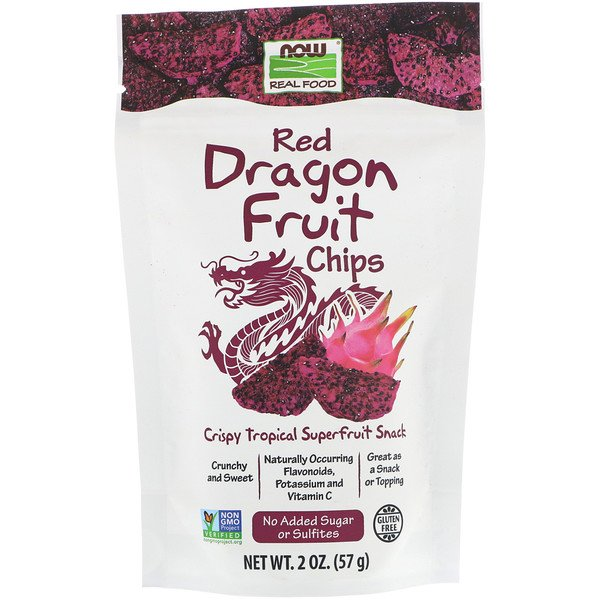 Real Foods, Chips de Pitahaya, 57 g (2 oz)