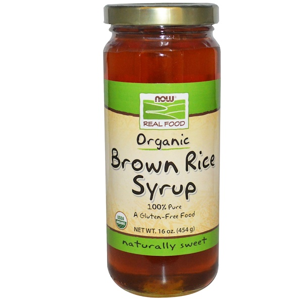 Now Foods, Real Food, Organic Brown Rice Syrup, 16 oz (454 g) (Discontinued Item)