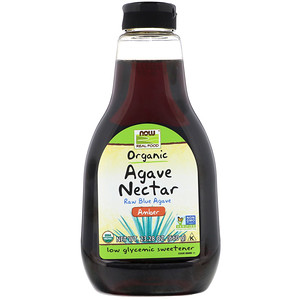 Now Foods, Real Food, Organic Agave Nectar, Amber, 23.28 oz (660 g) отзывы