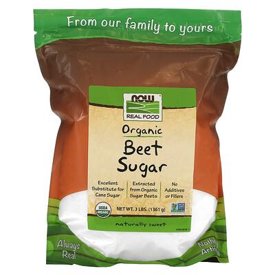 Now Foods Organic Beet Sugar, 3 lbs (1361 g)