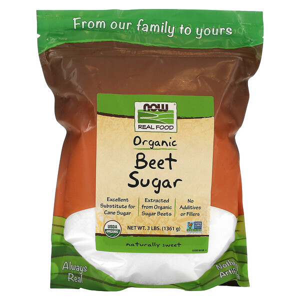 Organic Beet Sugar, 3 lbs (1361 g)