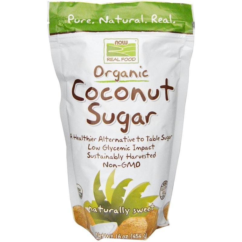 Real Food, Organic Coconut Sugar, 16 oz (454 g)
