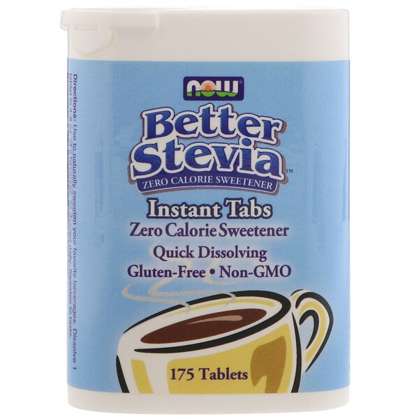 Now Foods, Better Stevia, Instant Tabs, 175 Tablets