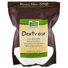 Now Foods, طعام حقيقي، ديكستروز، 32 أونصة (907 غ)
