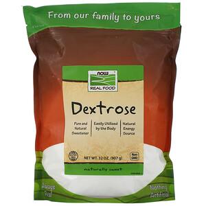 Now Foods, Real Food, Dextrose, 32 oz (907 g) отзывы