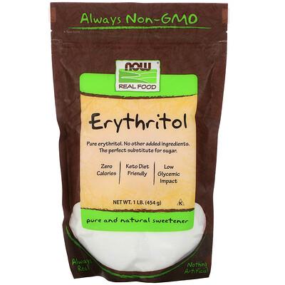 Real Food, эритритол, натуральный сладкий вкус, 454г complete protein натуральный вкус 840г