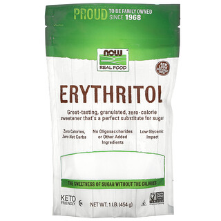 Now Foods, Real Food, Erythrit, 454g (1lb.)