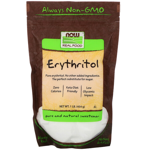 Real Food, Erythritol, 1 lb (454 g)