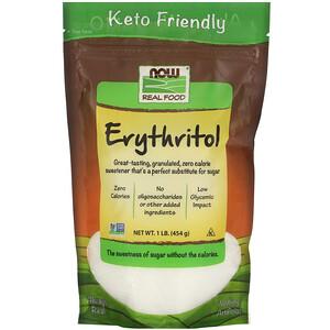 Now Foods, Real Food, Erythritol, 1 lb (454 g) отзывы