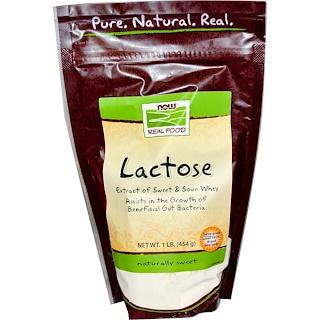 Now Foods, Lactose, 1 lb (454 g)