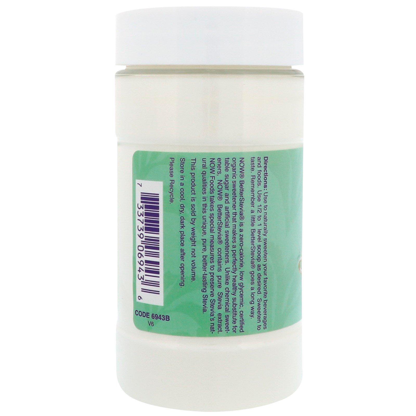 Now Foods Organic Better Stevia Powder
