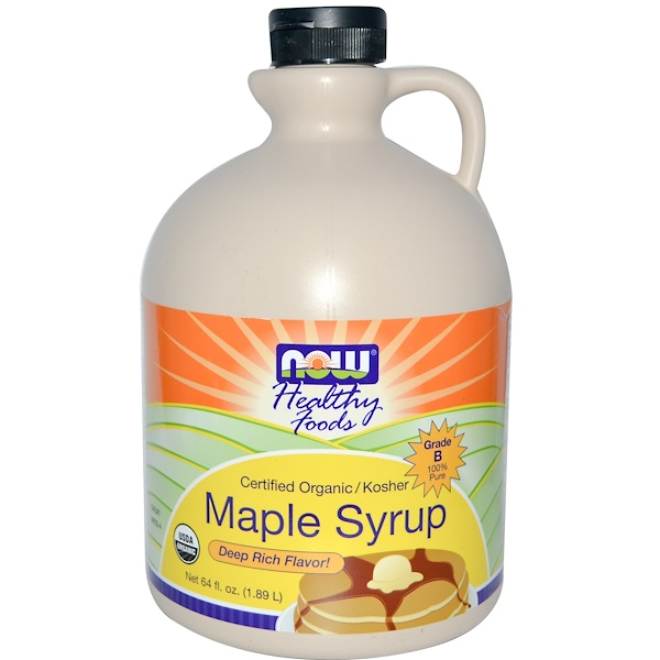 Now Foods, Maple Syrup, 64 fl oz (1.89 l) (Discontinued Item)