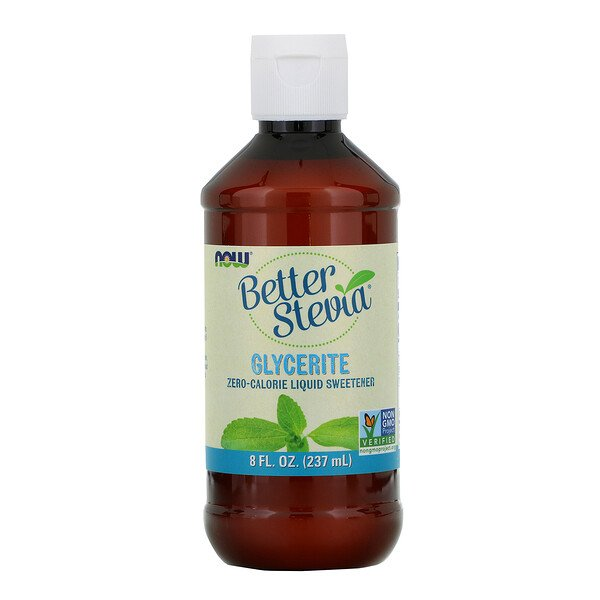 Better Stevia,  Zero-Calorie Liquid Sweetener, Glycerite, 8 fl oz (237 ml)