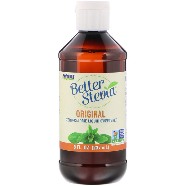 Better Stevia, Zero-Calorie Liquid Sweetener, Original, 8 fl oz (237 ml)