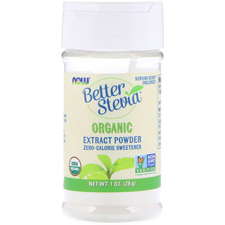Now Foods, BetterStevia, Organic Powder, 1 oz (28 g)